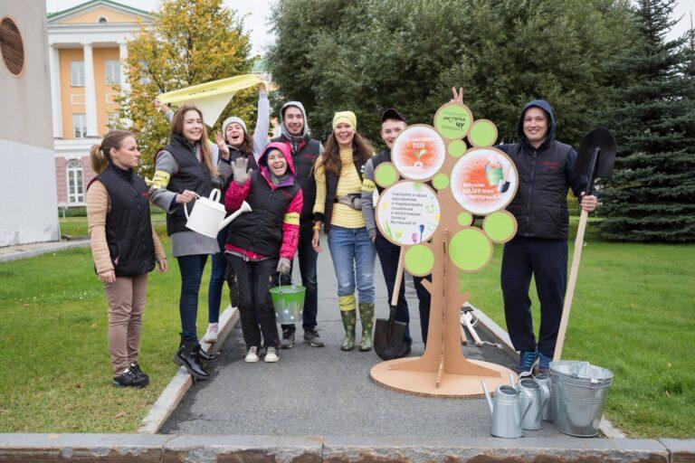 Восстановление яблоневой аллеи в Ижевске